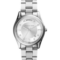 NEW Michael Kors Colette Silver Dial Stainless Steel Ladies Watch MK6067