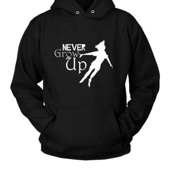 Peter Pan Never Grow Up Hoodie Two Sided