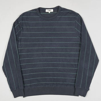 YMC Reversible Chainstitch Sweat Navy
