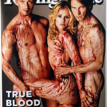 True Blood Rolling Stone Promo Poster 16inx24in Imported Out Of Print 16inx24in