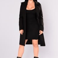 Upper East Side Coat - Black