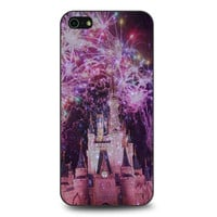 Disney Castle Fireworks Design On Nebula iPhone 5 | 5S case