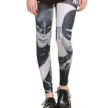 DC Comics Classic Batman & Robin Leggings | Hot Topic