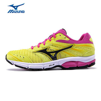 MIZUNO Women WAVE ZEST Mesh Breathable Light Weight Cushioning Jogging Running Shoes Sneakers Sport Shoes J1GR159872 XYP301