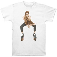 Lady Gaga Men's  The Arm T-shirt White Rockabilia
