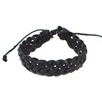 Mens Pull Leather Bracelet