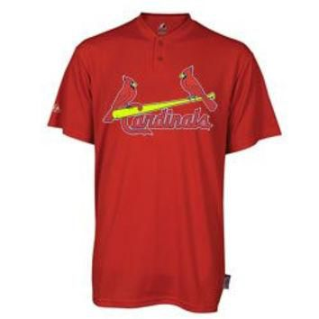 St. Louis Cardinals (ADULT LARGE) Two Button MLB Officially Licensed Majestic Major Le