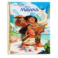 Disney Moana Big Golden Book | Disney Store