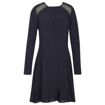 Sandro Rebella Pleated Hem Dress at Sandro US
