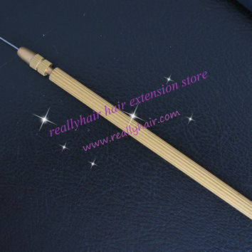 Best selling !  Free shipping 3 size Weave hair replacement dedicated crochet copper pattern Hook needle imported from Korea