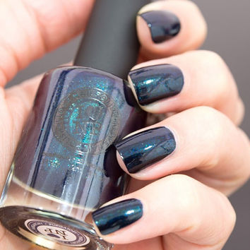 Purgatory - Deep Dark Teal - Rich Effect Nail Polish