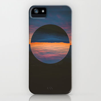 Black Sun iPhone & iPod Case by Adrian2green