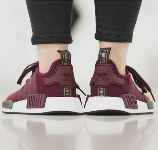 sneakers for cheap 66f2f 4e325 Adidas NMD Boost Women Running Sport Casual Shoes Sneakers