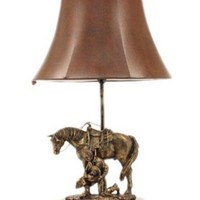 M&F Western Products® Cowboy Prayer Accent Lamp