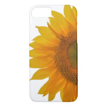 Golden Mandala Sunflower iPhone 7 Case
