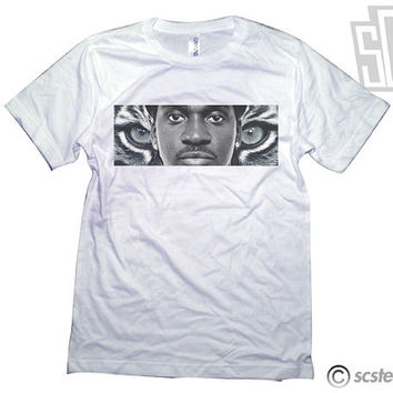 Pusha T Tiger Tee Shirt - 078
