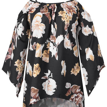 Cupshe Stir In Breeze Floral Top