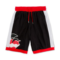Wave Hoop Short in Black – Pink+Dolphin