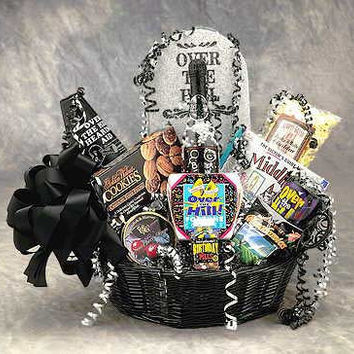 Over the Hill Birthday Gift Basket (Med)
