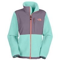 The North Face Denali Fleece Jacket - Women's R Frosty Blue/Greystone Blue, S