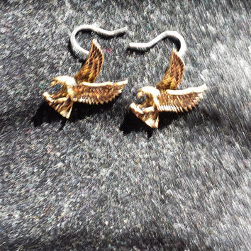 Eagle Pendant Earrings a Soaring High