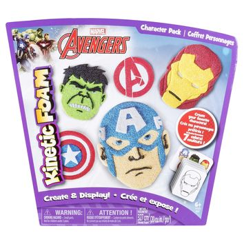 Kinetic Foam - Character Pack - Marvel Avengers