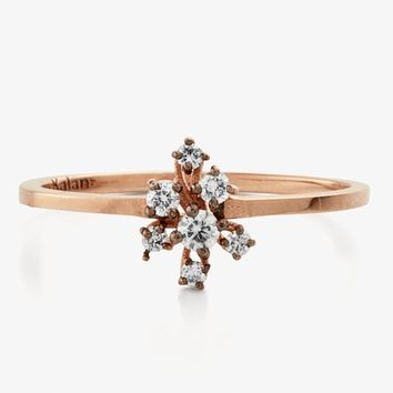 Suzanne Kalan Starburst Diamond Cluster Ring