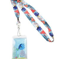 Loungefly Disney Finding Dory Liquid Lanyard