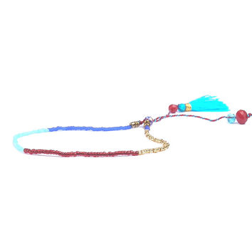 Beach Colorful Women Bracelet Vintage Handmade Braided Women Tiny Beads Friendship Fashion Bohemian