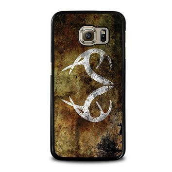 realtree deer camo samsung galaxy s6 case cover  number 1