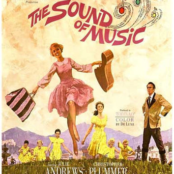 The Sound of Music Movie Poster 11x17