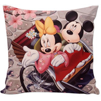 Mickey and Minnie Mouse pillow