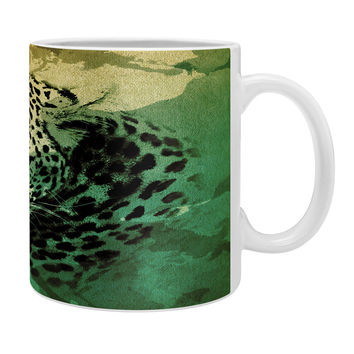 Allyson Johnson African Leopard Coffee Mug