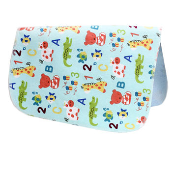 19*27 Inch Lovely Waterproof Breathable Baby Urine Pad-Bear and Figure
