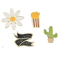 Cacti Queen - Enamel Pin Badges