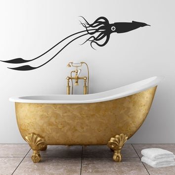 Squid Wall Decal