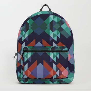 Abstract geometric Backpack by edrawings38
