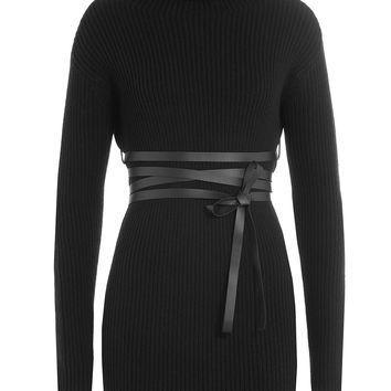 Valentino - Virgin Wool Turtleneck Pullover with Cashmere