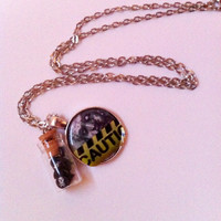 Watch Out For The ZOMBIES Necklace - Walking Dead Comics Inspired