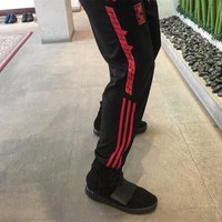 Black Casual Pants Skinny Pants Gym Sportswear [47760670732]