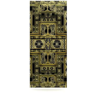 "Nika Martinez ""Golden Art Deco"" Luxe Rectangle Panel"