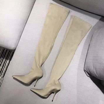 Balenciaga Women Fashion Casual Heels Shoes Boots Shoes