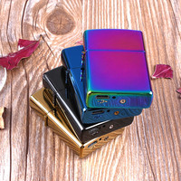 1 x Novelty USB Electronic Rechargeable Battery Flameless Cigar Cigarette Electronic Lighter Random Color No Gas Smokeless