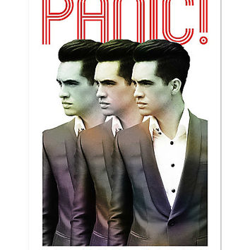 Panic! At The Disco Brendon Poster
