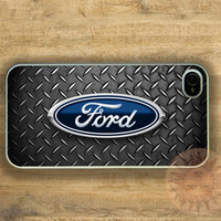 Ford Steeling Wheel -iPhone 5 case, iphone 4s case, iphone 4 case, Samsung GS3 case-Silicone Rubber or Hard Plastic Case, Phone cover