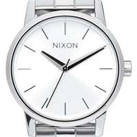 Women's Nixon 'Kensington' Bracelet Watch, 32mm - Silver