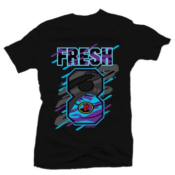 Bobby Fresh Big 8 Aqua 8s Tee