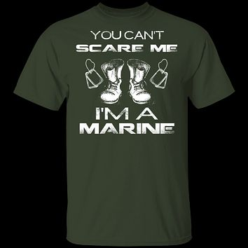 Can't Scare A Marine T-Shirt