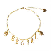 BB Girl Charm Choker