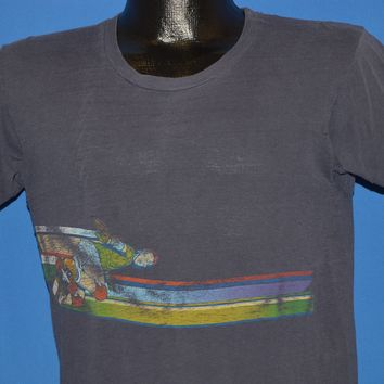70s Skater Rainbow Striped t-shirt Small